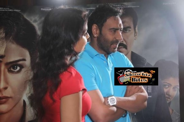 Ajay Devgn and Shriya Saran