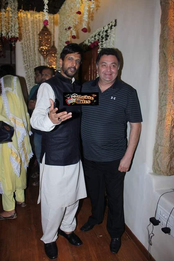 Javed Jaffrey and Rishi Kapoor