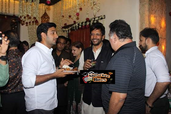 Siddharth Aniand, Javed Jaffrey and Rishi Kapoor