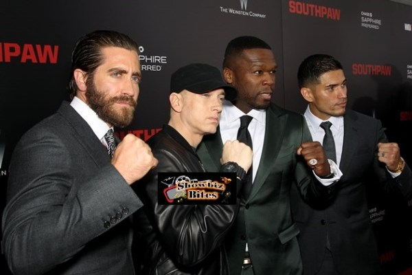Jake Gyllenhall, Eminem, 50 Cent, Miguel Gomez