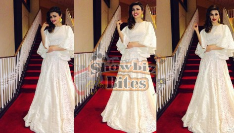 Prachi Desai at an award ceremony in USA