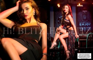 PHOTOS: Amy Jackson's Killer Curves on Hi Blitz Magazine Photoshoot