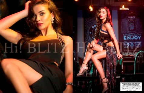 Amy Jackson Hi Blitz Shoot