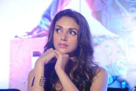Actress Aditi Rao Hydari @ Boss Movie Press Meet Hyderabad Photos