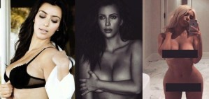 5 Times Kim Kardashian Bared it All