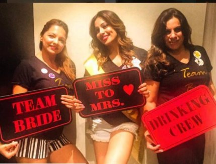 Bipasha Basu's bachelorette party pics