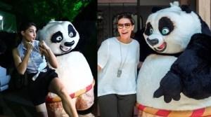 PHOTOS: Kung Fu Panda's Po Strikes Poses with Bollywood Actresses