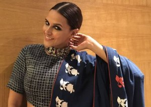 PIX: Neha Dhupia's Latest Style – Desi Look with Stunning Lehenga