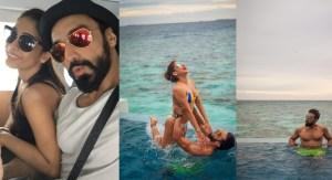 PHOTOS: Ashish Chowdhry Enjoys Splendid Holiday with Wife in Maldives