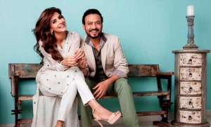 Irrfan Khan and Pakistani Actress Saba Qamar's Hindi Medium's First Look Out