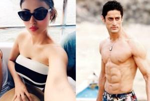PIX: Mouni Roy and Boyfriend Get Steamy on Goa Beach