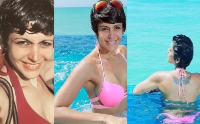 Mandira Bedi Maldives vacation