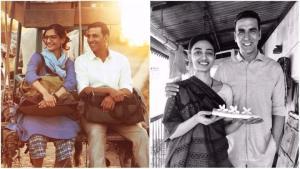 PHOTOS: Akshay Kumar shows you his two leading ladies – Radhika and Sonam Kapoor