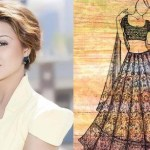 Aashka Goradia's wedding dress