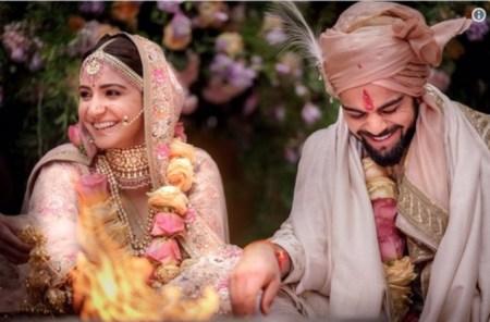 Anushka Sharma and Virat Kohli's wedding