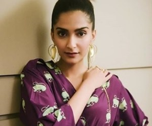 Sonam Kapoor Shows 80s Inspired Look – Jumpsuit with Whimsical Prints All Over