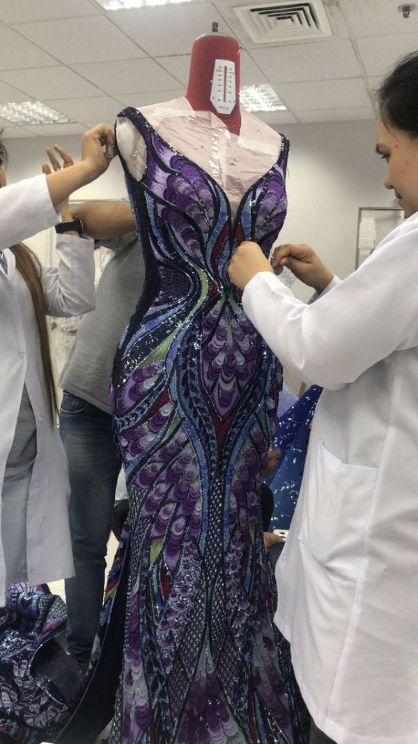 Aishwarya Rai's Butterfly Dress at Cannes