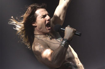 First photo of Tom Cruise in 'Rock of Ages'