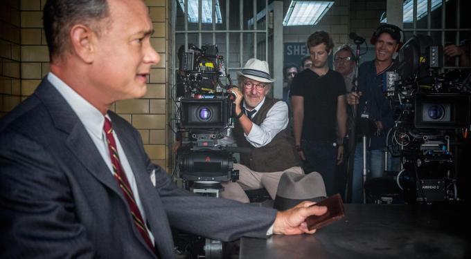 Spielberg, Hanks Talk Coen Brothers Influence On 'Bridge Of Spies'