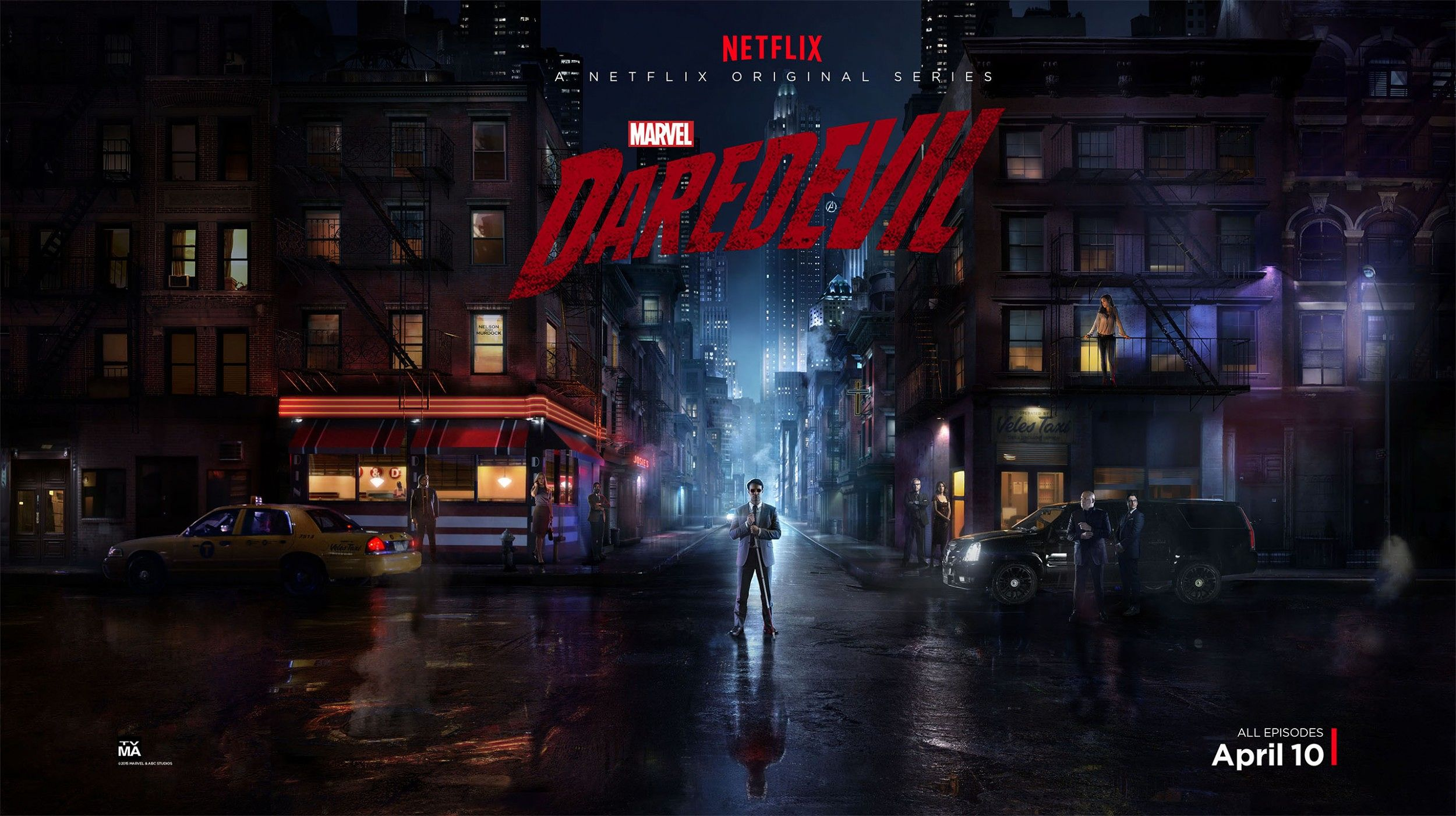 Marvel's Daredevil on ShowBox