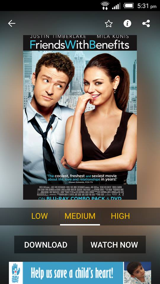 Friends With Benefits on ShowBox 1
