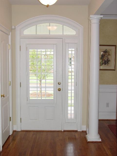 Curtains Front Door Side Windows