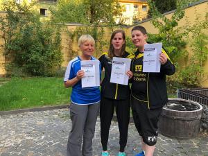 Landesmeisterschaften NRW 2018 Damen - Treppchen
