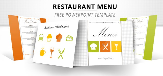 Free powerpoint menu template free download toneelgroepblik Choice Image