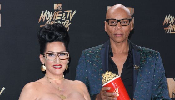 """Exclusive: RuPaul And Michelle Visage Make A Surprise Appearance At The """"MTV Movie & TV Awards: UNSCRIPTED"""""""