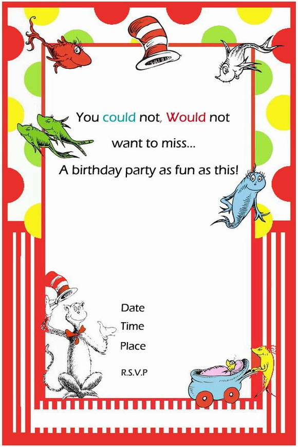 template dr seuss birthday invitation