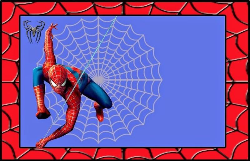 spiderman birthday invitation free