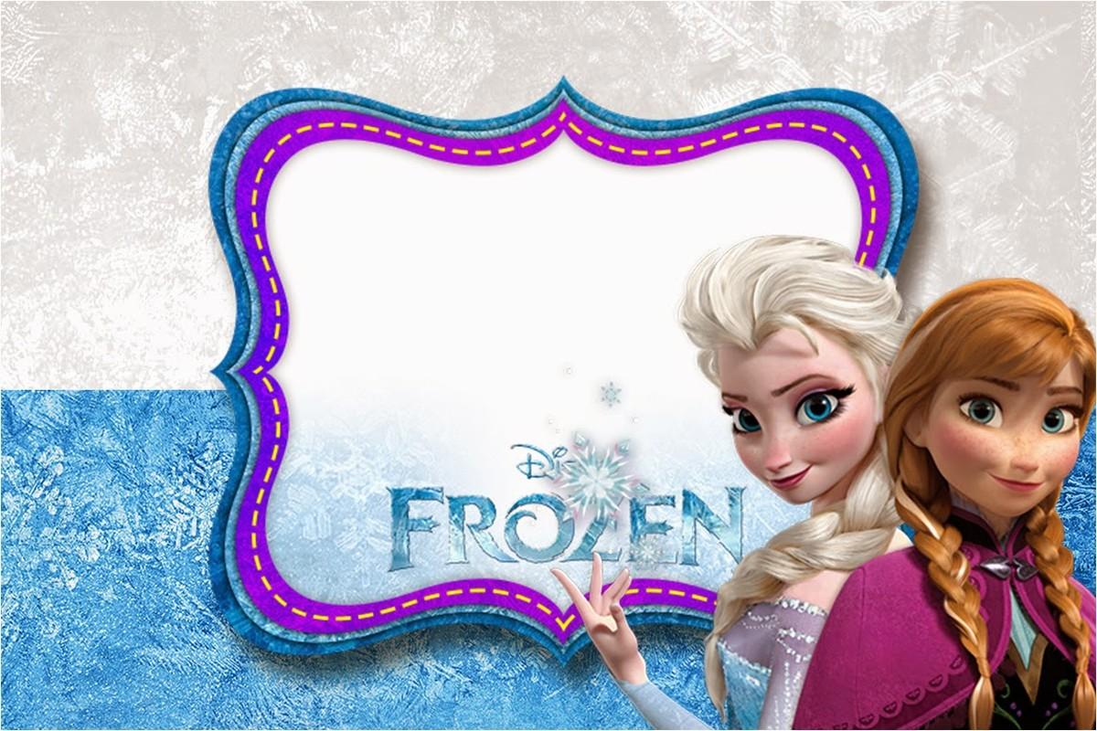 frozen birthday party invitation free