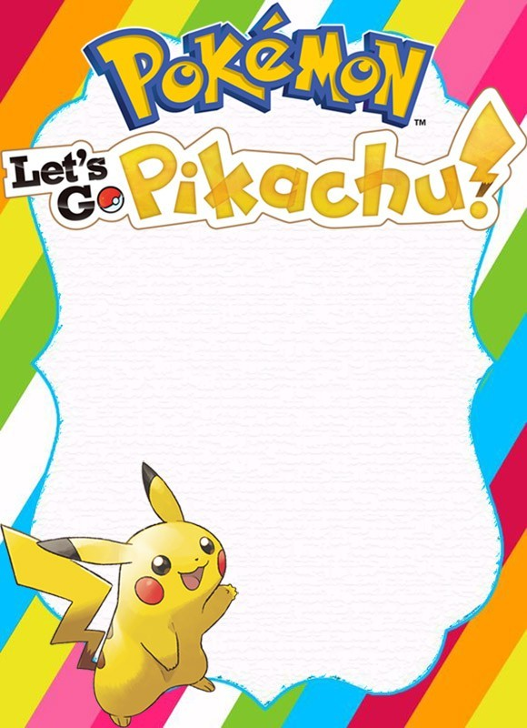 unique pokemon invitations for the