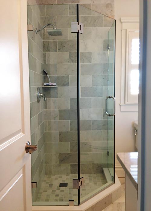 Neo Angle Shower Doors Corner Shower Manalapan Nj