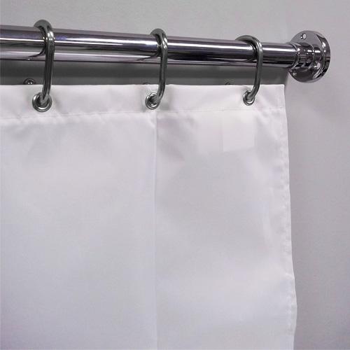 72 w x 86 l heavy duty flame retardant shower curtain