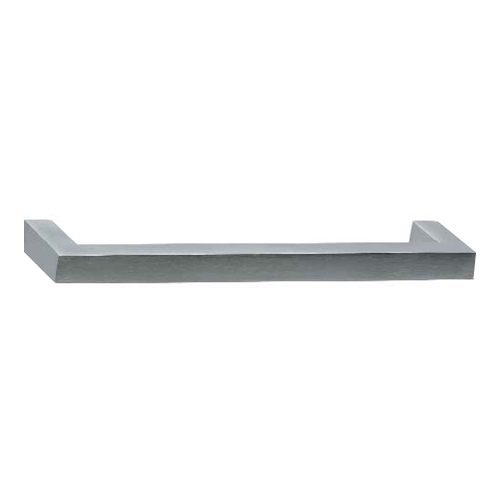 12800 Series Kube D Pull Brushed Stainless Steel