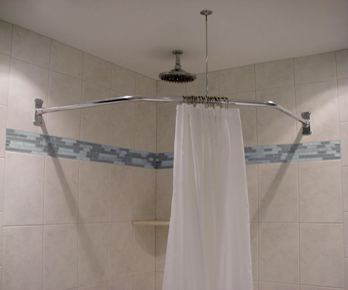 18 5 x 26 x 18 5 neo angle shower rod standard flange