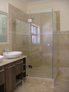 Frameless Glass shower Cape Town