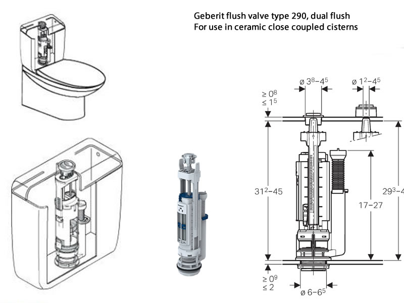 Toilet Cistern Spare Parts Motorview