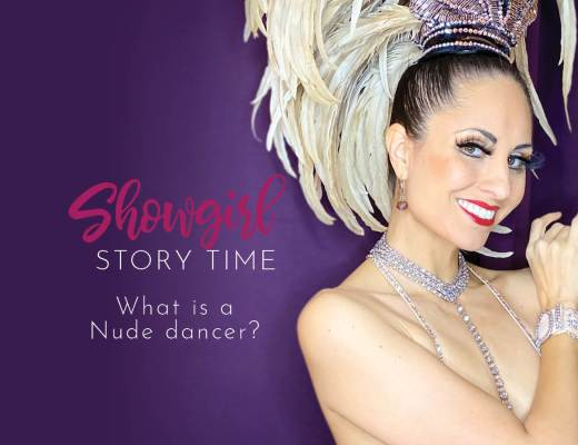 Showgirls Life | Showgirl Story Time starring Athena Patacsil answering the question, what is a dancing nude?
