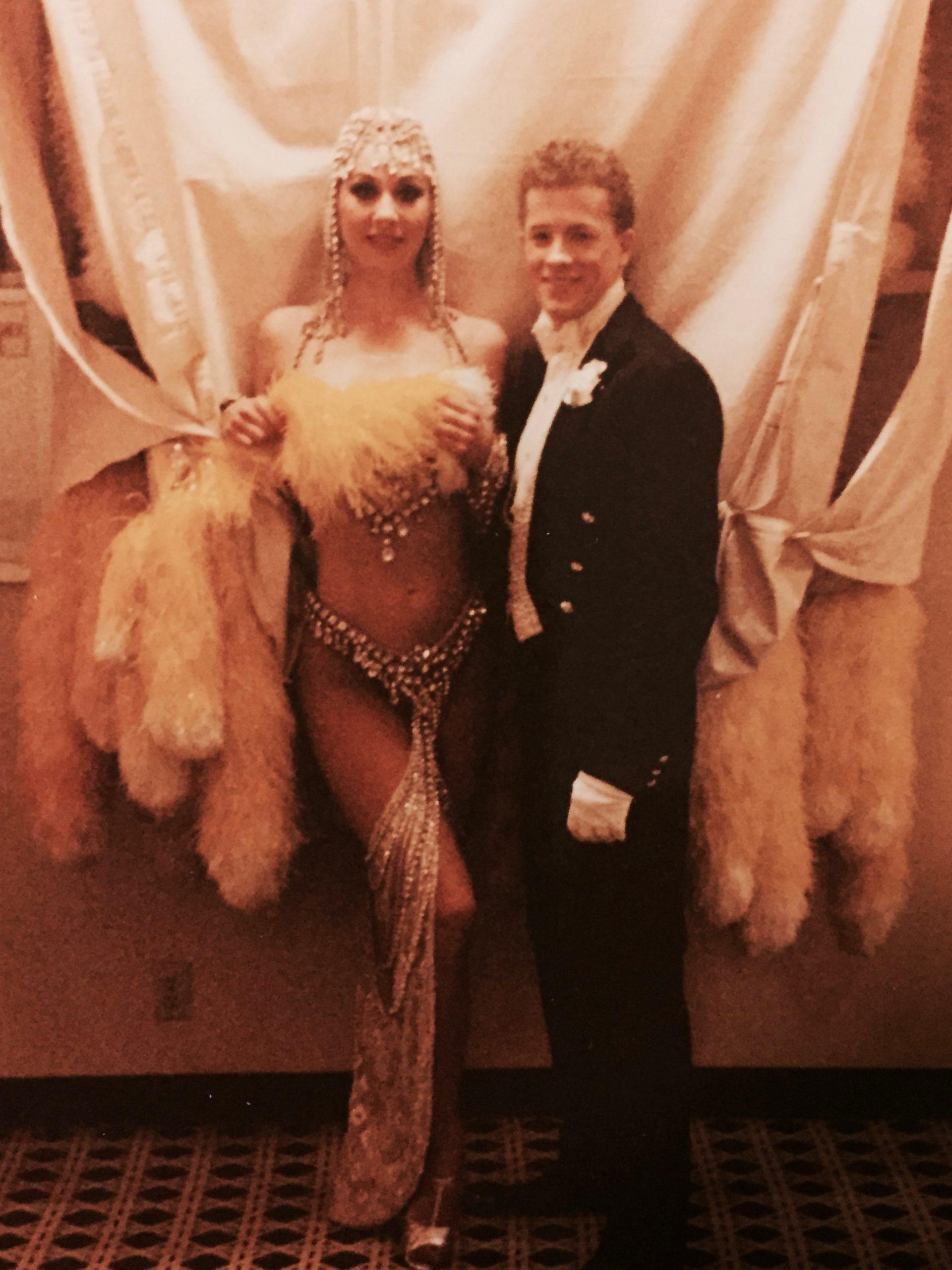 Las Vegas Showgirls in costume