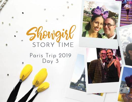 Showgirls Life   Showgirl Story Time starring Athena Patacsil Bluebells Forever Reunion Paris 2019 Day 3