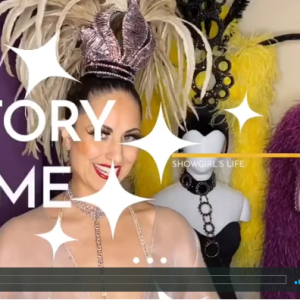 Showgirls.Life | Showgirl Story Time: Defining raked stage, Tip-a-thon, bevel and quick change