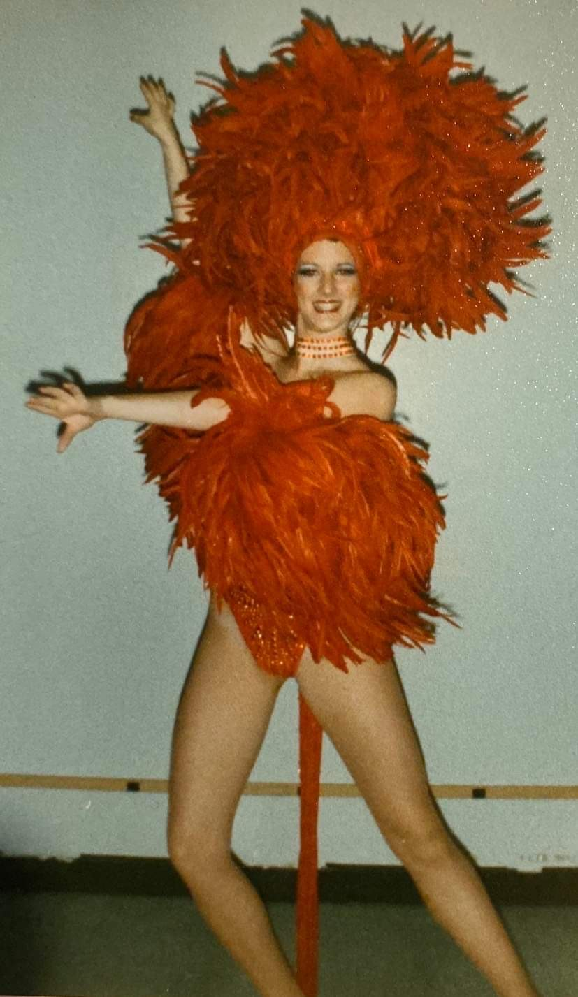 Showgirl's Life Podcast | Ep. 19 Now stick that giant headpiece on and go with special guest Sheri Lewis