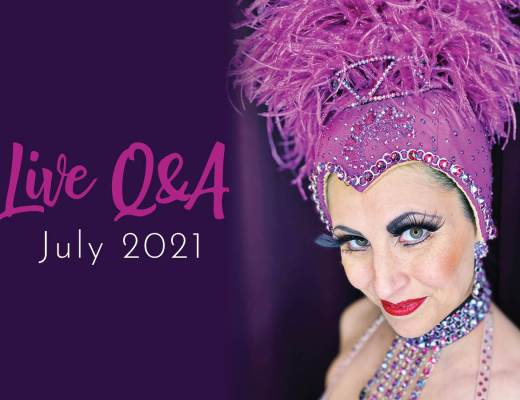 Showgirls Life | Members Live Q&A July 2021