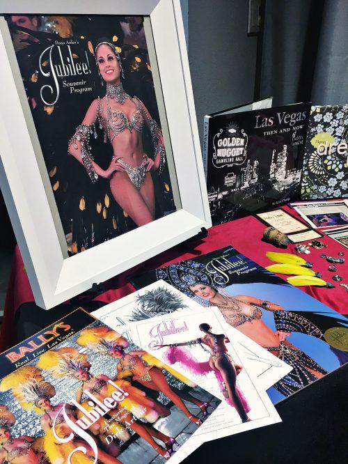 Las Vegas Showgirl ephemera Bally's Jubilee! Storyteller Showcase
