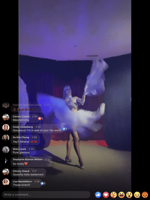 Showgirl's Life | Live Showgirl virtual shows
