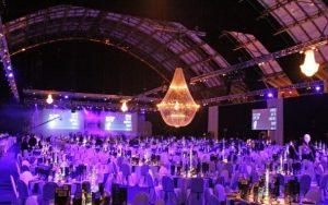 Iluminacion evento cooperativo en manchester