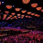 Iluminación conciertos wembley