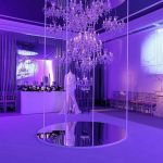 iluminación desfile de moda maison lancome spain